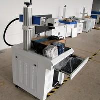 Plastic ceramic metals laser printer for sale / fiber laser marker Skype:szchanxan