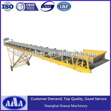 Arena sistema de transporte de la cinta transportadora de goma del precio cinta transportadora