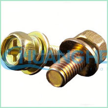 China high quality at competitive prices hex socket head combination and sem screw( washer)