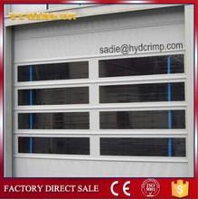 YQF-01 high speed fold up door/rapid fabric folding door/fast stacked door