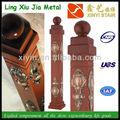 Xy-(12) 0580 aluminio kingpost/escalera columna/newel post