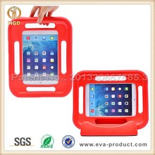 Hot Selling School Family Kids Safe Soft Grip Stand Hard Case Cover for iPad Air