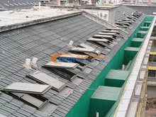 Thermal breaking aluminium awning window/skylight window customized for client