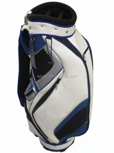 professional golf bag 100%PU leather golf bag for women