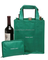 Cheap Price High Quality Non Woven Red Wine Bottle Bag