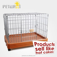 New large steel iron welded wire mesh dog cage pet carriers