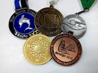 82.6mm Zinc alloy plating custom commemorative medals sports award medals for wholesale