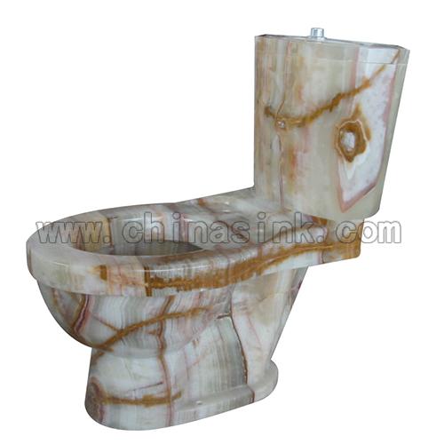 Luxury New Crema Marfil Marble Toilet Beige Sanitary Ware