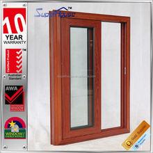 with AS2047 aluminium windows and doors Prefab house fixed panel sliding window