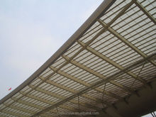 clear plastic roof covering