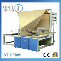 Easy operate auto double roll and fold machine