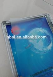 25MM aluminum picture poster frame for advertising snap frame