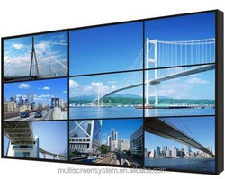 EKAA 55inch Newest LED Backlight Ultra Narrow Bezel LCD Splicing Video Wall,3.7mm Bezel