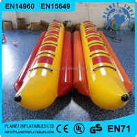Summer Popular Commercial Grade Inflatable Water Banana Boat For Sale