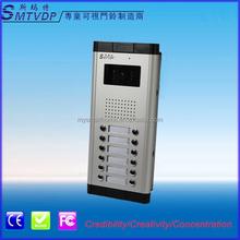 12-apartments direct-call video door bell outdoor monitor