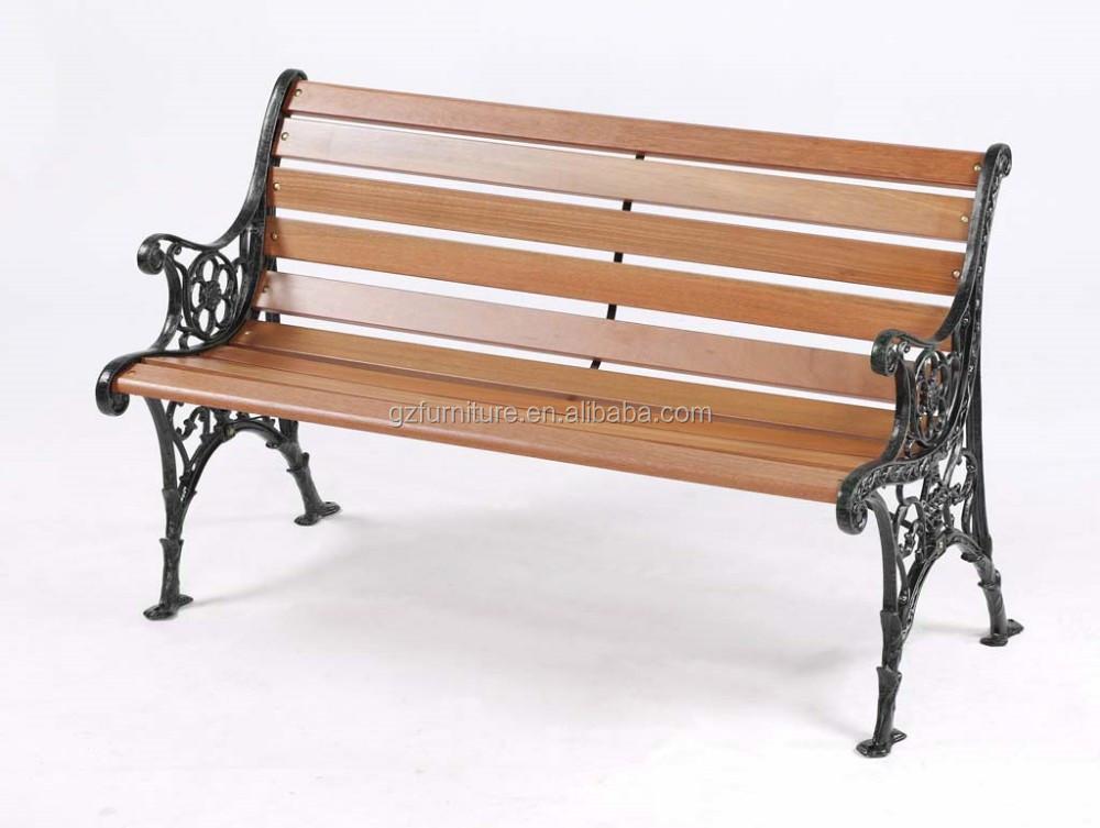 OEM de alta calidad de madera antiguos muebles de hierro fundido ...