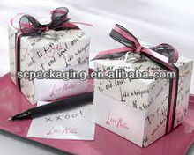 2013 popular paper gift box for packing