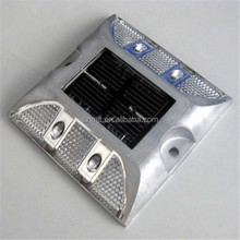 Direct manufacture aluminum double side LED solar road stud light