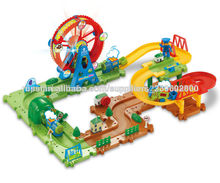 Juguetes ambiental infantil ,Bloques ferroviarios eléctricos