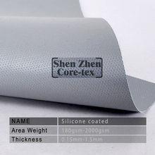 fiberglass cloth coating with silicone