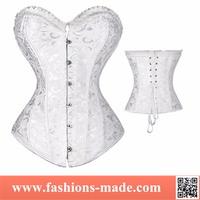 White Lace Corsets Sexy Lingerie