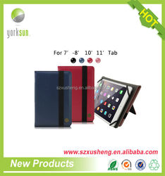7 inch universal tablet case with elastic