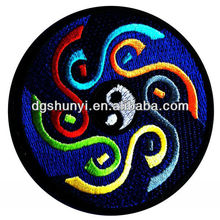 yoga with yin yang symbol Spiritual Hindu Meditation Inner Peace Inspiration Patch