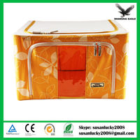 Portable Non Woven Pouch Holder Blanket Pillow Underbed Storage Bag Box