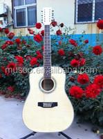 Musoo brand acoustic guitar 12 string guitar(MG400)