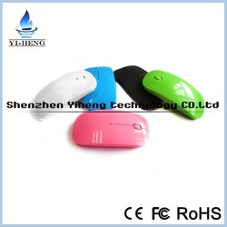 2015 Ultra Thin USB Optical Wireless Mouse 2.4ghz driver Super Slim Mouse For Computer PC Laptop Desktop