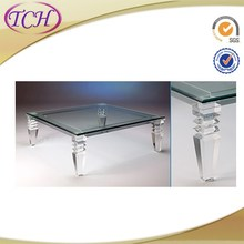 New Design Fashion acrylic furniture dinning table for eating