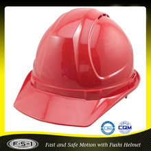 Red head protect CE construction Site Safety Helmet