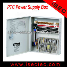 18CH Central Power Supply Box PTC power supply CCTV power supply box