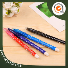 bulk buy from china stationery products erasable ballpoint pen(X-8807)