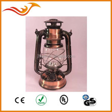 Hot sale decorative 15 LED hurricane lantern with lotus flower shape