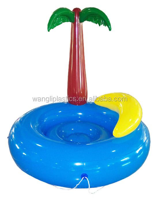 Vente chaude piscine le flottante gonflable d 39 eau le flottante appareil - Ile gonflable piscine ...