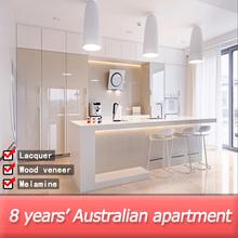 Australia standard modern kitchen cabinet design