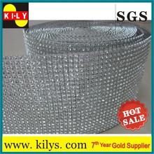 wholesale rhinstone mesh wrap in china