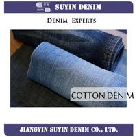 organic cotton twill 14oz denim jeans fabric