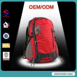 2015 leisure backpack bag unique design durable nylon leisure backpack bag hiking backpack