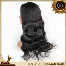 Wholesale beautiful free lace wig samples loose wave human hair wig front lace wig