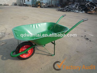 WB6500 solid wheel wheel tyre and metal tray wheelbarrow