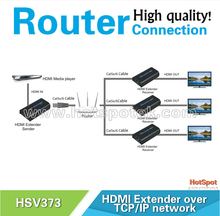 best factory price 1080P network HDMI Extender Over TCP/IP by Cat5e/6 Distance Up to 120Meter/HDMI Extender cat5e