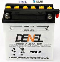 Batteries moto/Electrical Equipment&supplies/Moto parts/12V 9AH Dry-charged with high qualityYB9L-B