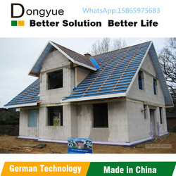 Fly ash aerated concrete block for prefab house