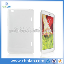 Anti-slide soft gel tpu skin cover case for lg g pad 8.3 v500