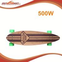 SOBOWO W5001 500W Remote Controlled Li-ion Battery Urban Electric Skateboard for sale