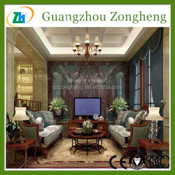 2015 New Product 12mm Retro glass block tempered glass cost per square foot