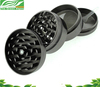 Hot sale Zinc and aluminum wholesale weed grinder, 50mm top clear grinder herb