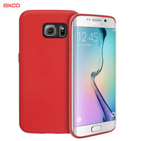 China supplier EXCO new product ultrathin PU cell phone case for Samsung Galaxy S6 Edge